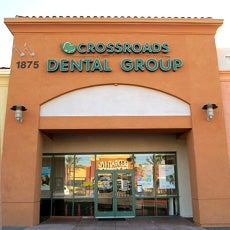 Crossroads Dental Group and Orthodontics store front thumb