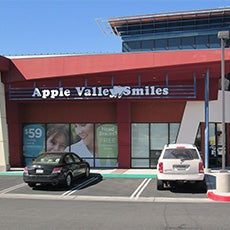 Apple Valley Smiles Dentistry and Orthodontics store front thumb
