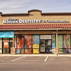 Reno Modern Dentistry and Orthodontics store front thumb