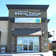 Highland Dental Group and Orthodontics store front thumb
