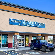 Tramonto Dental Group and Orthodontics store front thumb