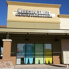 Maricopa Smiles Dentistry and Orthodontics store front thumb
