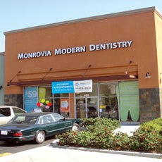 Monrovia Modern Dentistry store front thumb
