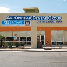 Arrowhead Dental Group and Orthodontics store front thumb