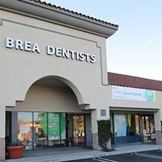 Brea Dentists store front thumb