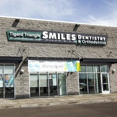 Tigard Triangle Smiles Dentistry and Orthodontics store front thumb
