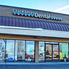 Clackamas Square Dental Group store front thumb