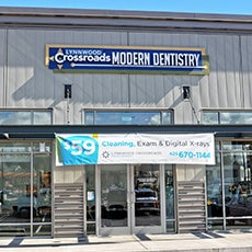 Lynnwood Crossroads Modern Dentistry and Orthodontics store front thumb