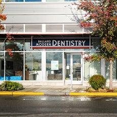 Ballard  Modern Dentistry store front thumb