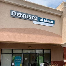 Dentists of Mesa store front thumb