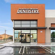 Palm Desert Modern Dentistry store front thumb