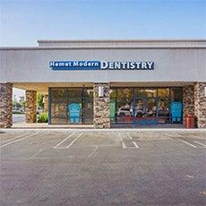Hemet Modern Dentistry store front thumb
