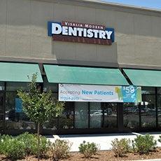 Visalia  Modern Dentistry store front thumb