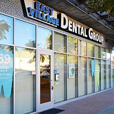 East Village Dental Group store front thumb