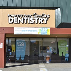 Rohnert Park Smiles Dentistry store front thumb