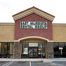 East Murrieta Dental Group and Orthodontics store front thumb