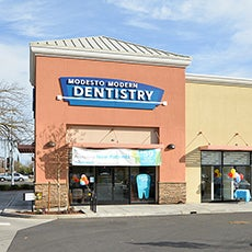 Modesto Modern Dentistry and Orthodontics store front thumb