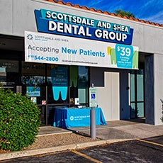 Scottsdale and Shea Dental Group store front thumb