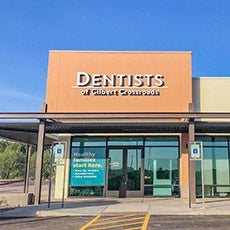 Dentists of Gilbert Crossroads store front thumb