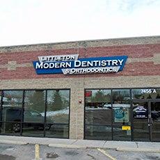 Littleton Modern Dentistry store front thumb