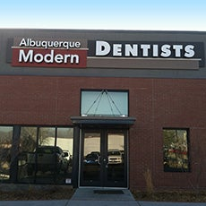 Albuquerque Modern Dentists store front thumb