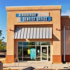 Albuquerque Dentist Office store front thumb