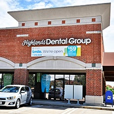 Highlands Dental Group store front thumb