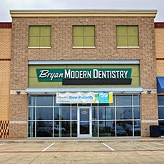 Bryan Modern Dentistry store front thumb