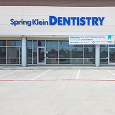 Spring Klein Dentistry store front thumb