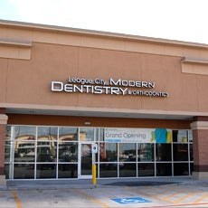 League City Modern Dentistry and Orthodontics store front thumb