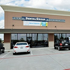 Cypress Dental Group and Orthodontics store front thumb