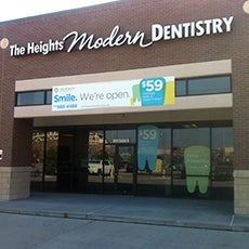 The Heights Modern Dentistry store front thumb