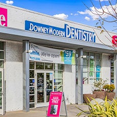 Downey Modern Dentistry store front thumb