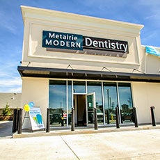 Metairie Modern Dentistry store front thumb