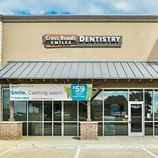 Cross Roads Smiles Dentistry store front thumb