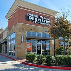 Rockwall Modern Dentistry and Orthodontics store front thumb