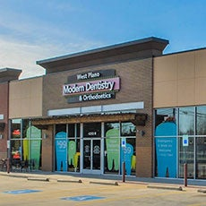 West Plano Modern Dentistry and Orthodontics store front thumb