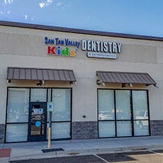 San Tan Valley Kids'  Dentistry & Orthodontics store front thumb