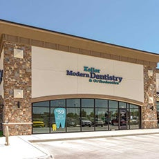Keller Modern Dentistry and Orthodontics store front thumb