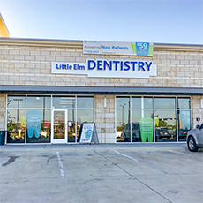Little Elm Dentistry and Orthodontics store front thumb