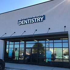 Waxahachie Modern Dentistry store front thumb