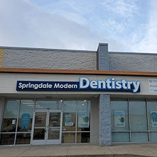 Springdale Modern Dentistry store front thumb