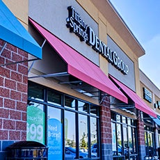 Tiffany Springs Dental Group and Orthodontics store front thumb