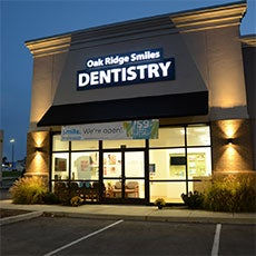 Oak Ridge Smiles Dentistry store front thumb