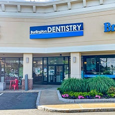 Burlington Dentist Office store front thumb