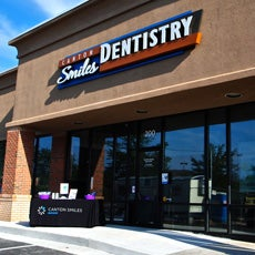Canton Smiles Dentistry and Orthodontics store front thumb