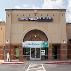 Crabapple Smiles Dental Group and Orthodontics store front thumb