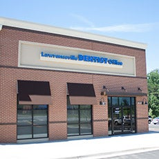 Lawrenceville Dentist Office store front thumb