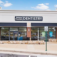 Bristow Fountain Dentistry store front thumb
