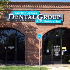Rancho Cordova Dental Group and Orthodontics store front thumb